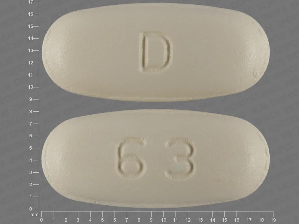 Pill Finder: D 63 Yellow Elliptical / Oval - Medicine.com