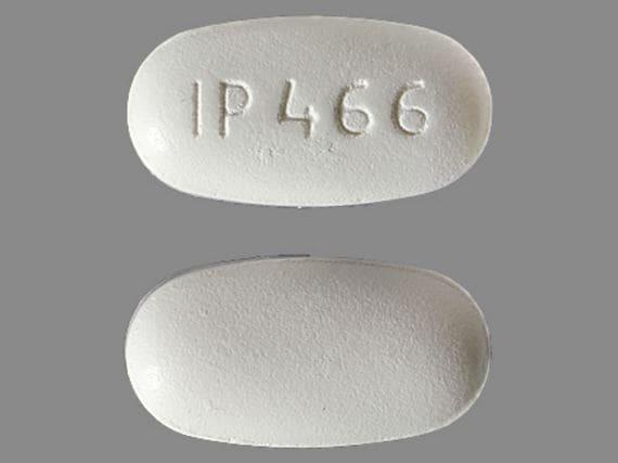 Pill Finder: IP 466 White Capsule-shape - Medicine.com