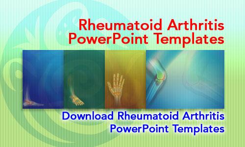 Rheumatoid Arthritis Medicine PowerPoint Templates