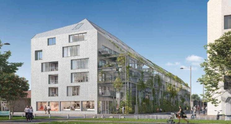 Programme Immobilier Neuf Bordeaux Quartier Bastide Niel 33000 21129