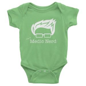 I'm a Medic Nerd Infant One-Piece