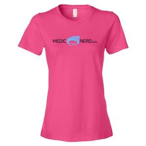 MedicNerd.com Logo T-shirt (women's)