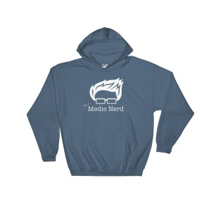 I'm a Medic Nerd Pull-Over Hoodie