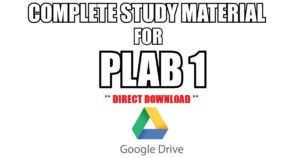 Complete Study Material for PLAB 1 (Free PDF Download)