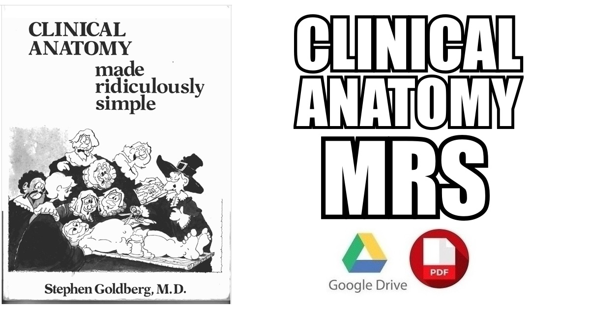 Clinical Anatomy Made Ridiculously Simple 4th Edition PDF