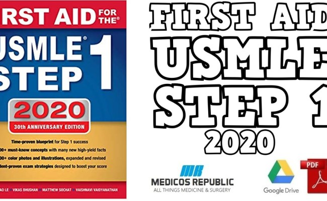 First Aid For The Usmle Step 1 2020 30th Edition Pdf Free