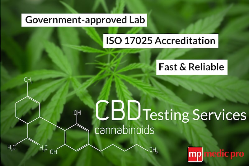 CBD Lab Testing UK - Government Approved - Medic Pro Limited