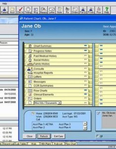 Medisoft clinical software electronic chart entry screen also medical records emr rh medicserve