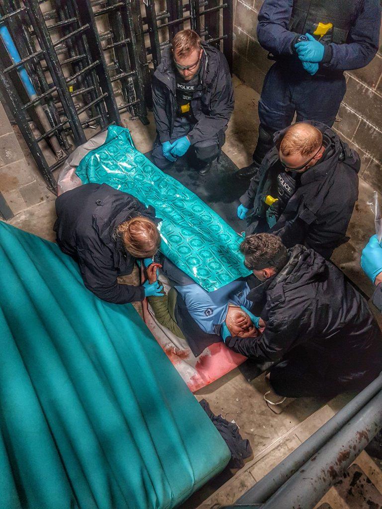 pre-hospital medical emergency training