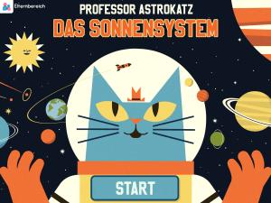 Professor Astrokatz - Das Sonnensystem