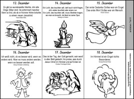 Malvorlagen Für Adventskalender   Coloring and Malvorlagan