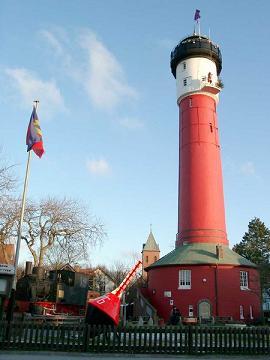 Wangerooge  der Westturm und der Alte Leuchtturm