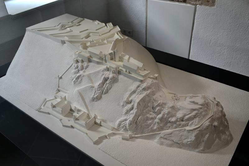 Festung Ehrenbreitstein  Modell 2  Medienwerkstatt