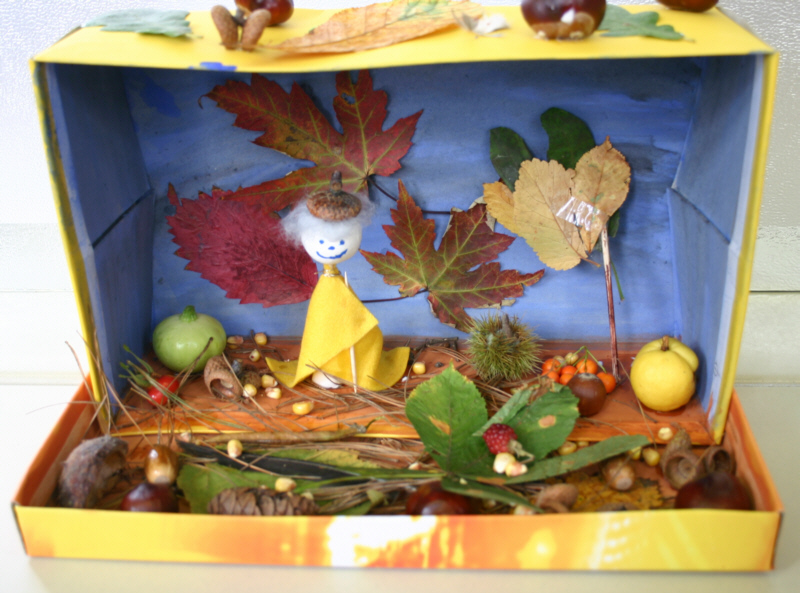 Herbstlandschaft im Schuhkarton  Fotos 2