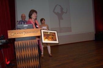 Gullregnet fotoprisen gikk til fotoet Ballerina.