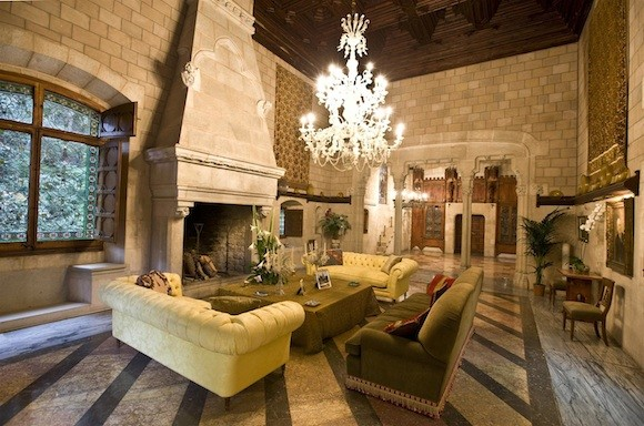 A Spanish Castle Furniture Included Estate Of The Day