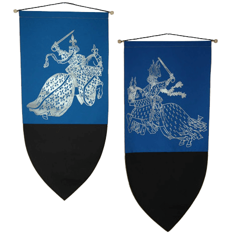 medieval banners pirate flags