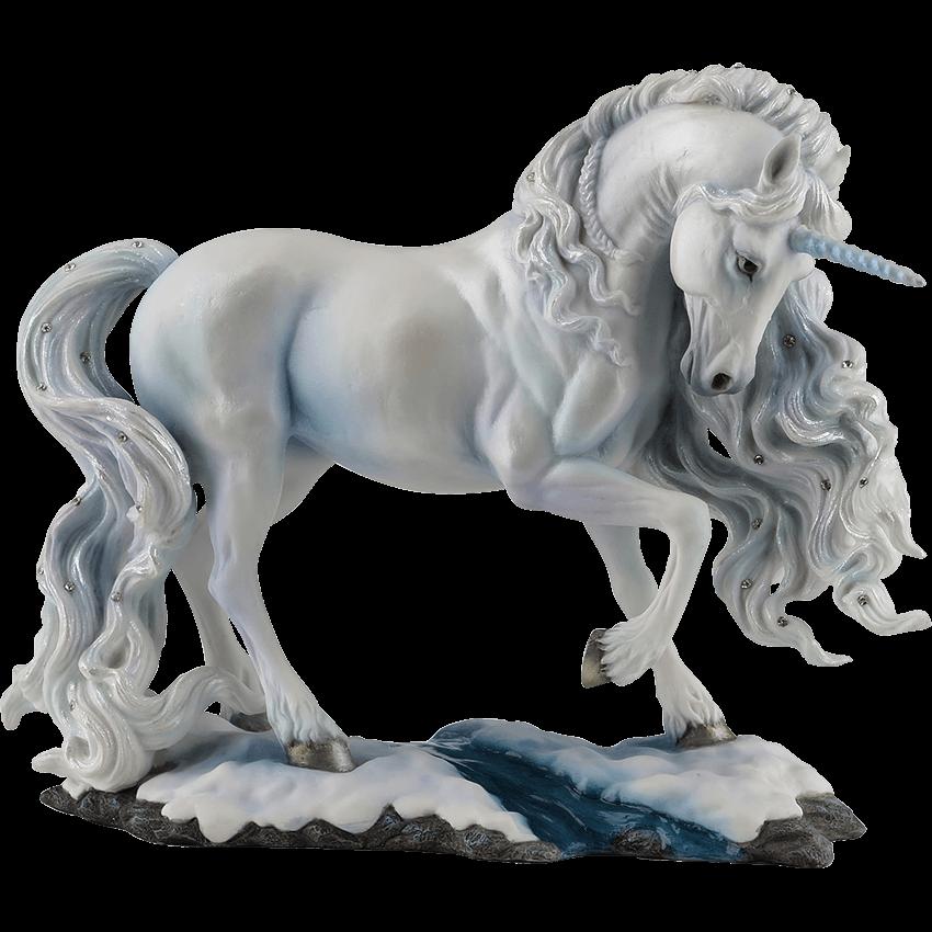 pure spirit unicorn statue