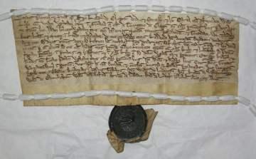 clopton_land_record_-_parchment
