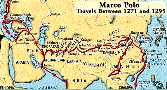marco polo travels