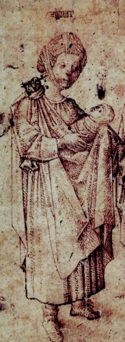 Late 15th century depiction of Gypsies