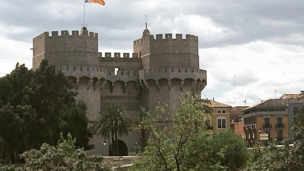 Torres de Serranos, Valencia, Spain. Photo by Medievalists.net
