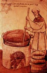 Medieval beer making