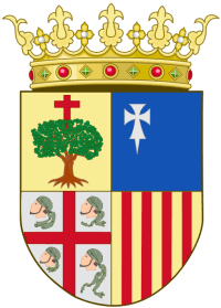 Official Coat of Arms of Aragon