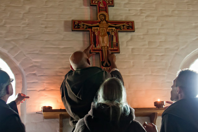 San Damiano Cross - photo by Hans Splinter
