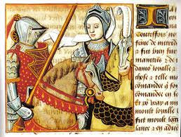 Medieval fighting women