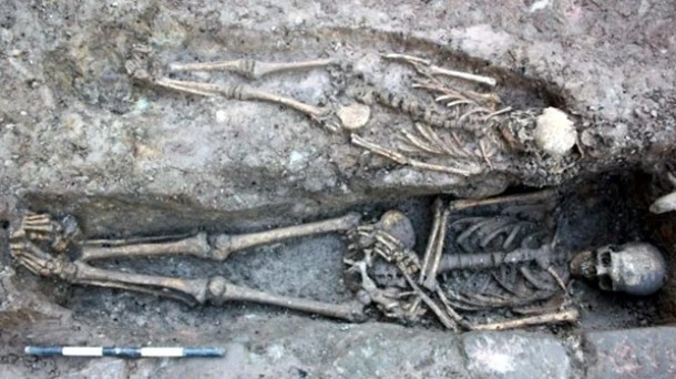 More skeletons discovered at medieval site in Edinburgh - photo courtesy ECCI