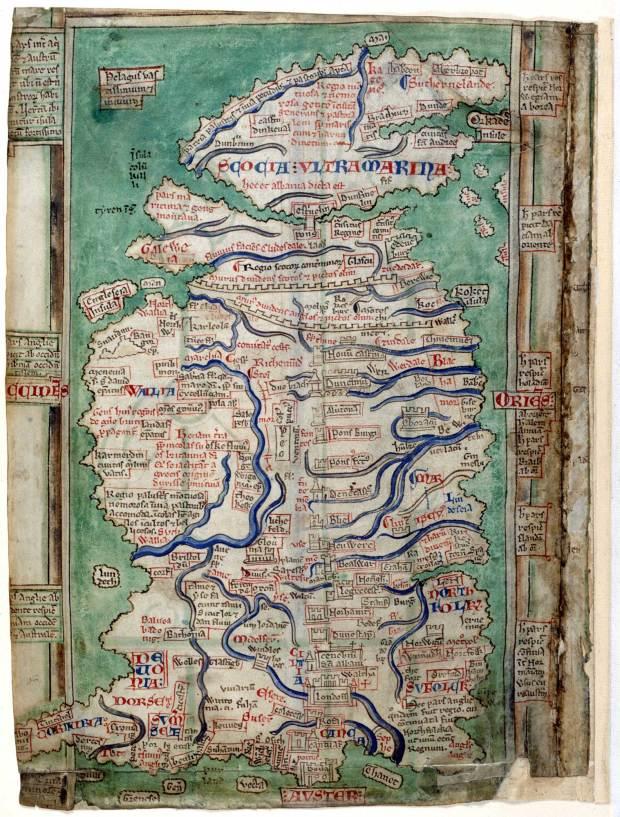 Matthew Paris's map