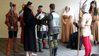 Reconstruction of a Judicial Duel c. 1400