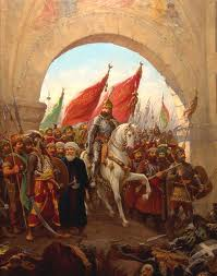 Mohammed entering Constantinople