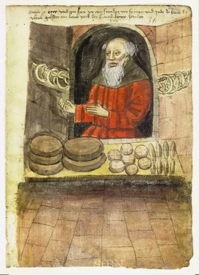 medieval breads from the 15th century