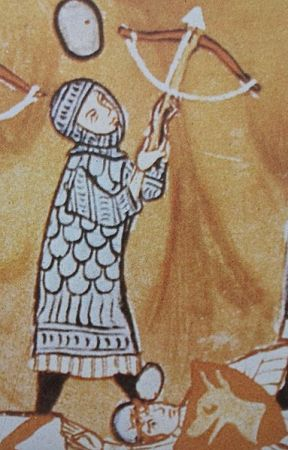 14th century crossbowman