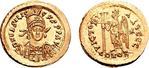 Coin of Basiliscus - Photo: Panairjdde/Wikicommons