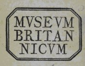 British Museum stamp