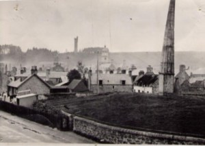 Image of the mound from the early 20th century
