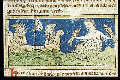 medieval mermaid