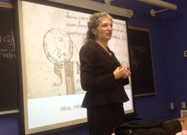 Sian Echard - Mine, mine, mine! Marking Medieval Manuscripts, Then and Now