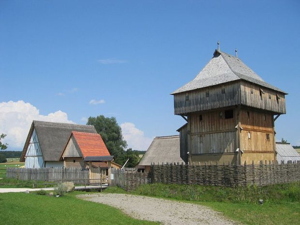 Bachritterburg (reconstruction of a medieval castle), Kanzach, Baden-Württemberg, Germany. Photo by Frank Sautter