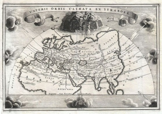 Map of Eurasia from 1706