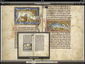 Bestiary on iPad