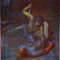 The Three Tellings of Beowulf's Fight with Grendel's Mother