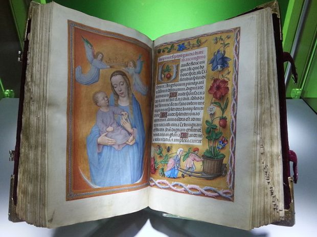 Rothschild prayerbook - photo by E2v/Wikicommons