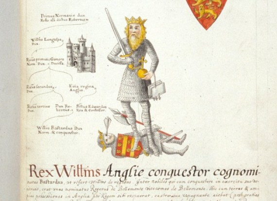 William the Conqueror - Harley 624   f. 145