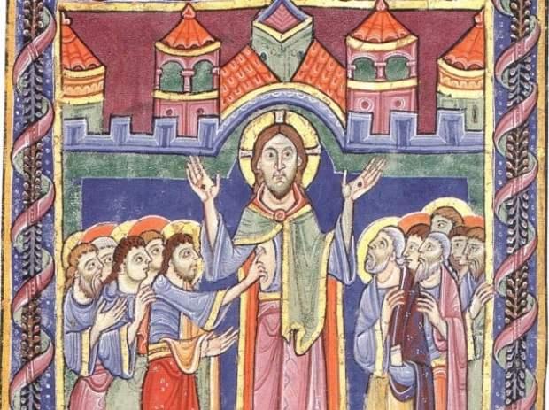 St albans psalter - image from Wikicommons Media
