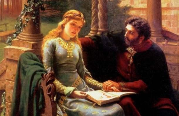 Abelard and Heloise by Edmund Blair Leighton