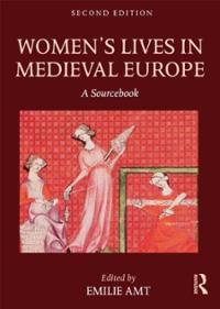 womens-lives-in-medieval-europe-sourcebook-emilie-amt-paperback-cover-art